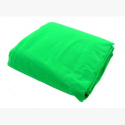 LL LC5781. Chromakey Curtain 3 x 3.5m Green
