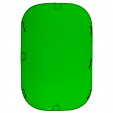 LL LC6981. Collapsible 1.8m x 2.75m Chromakey Green