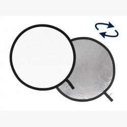 LL LR3831. Collapsible Reflector 95cm Silver/White