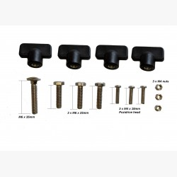 LL RA1158. Thumb Screw For Stands X3